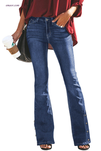 Wholesale Women's Bell Bottom Jeans Affordable Express Jeans