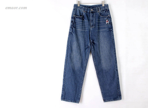 Best Jeans on Sale Blackn Light Blue Plus-size Jeans Hot Men's Loose Casual Hip-hop Pants Skateboard Pants Jeans