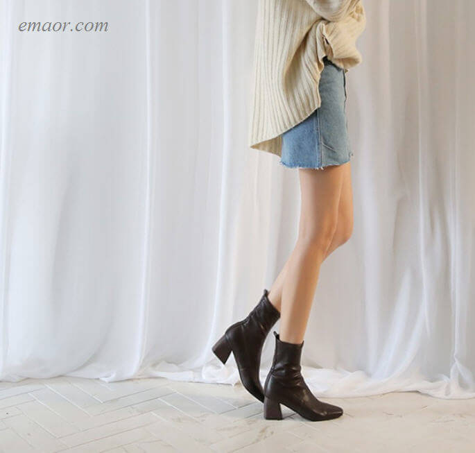 Female Knee High Boots Ankle Boots Autumn And Winter New Boots Female Women's Wearing Knee High Boots