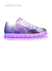 New Light Up Shoes Intergalactic-APP Controlled Low Top LED Shoes Light Up Boots Walmart