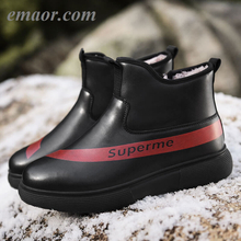 Men's New Winter Waterproof Best Cotton Sneakers Warm Cotton Shoes