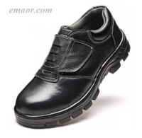 Work Safety Shoes Anti-smash And Puncture Steel Toe Shoes Work Shoes