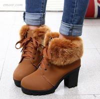 Cheap Ankle Boots Winter Women's Fur Snow Boots Sperry Duck Boo Ts Women's Winter Fur Snow Boots