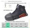 Hiking Safety Shoes New Autumn And Winter Keep Warm Solid Work Safety Shoes Safety Skate Shoes
