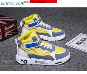 Sneakers Celebrity Hot Style High-top Shoes Ins Canvas Waterproof Sneakers Shoes for Men Sneakers