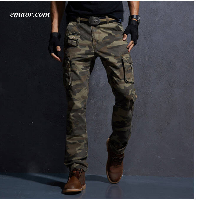 Quality Cargo Tactical Pants Cotton Casual China Men's Camouflage Cargo Trousers on Sale