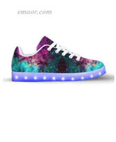 Cool Light Up Shoes Extraterrestrial-app Controlled Low Top Led Shoes Boots Toddler Light Up Sneakers on Sale