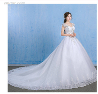 Formal Dresses for Weddings Elegant Ball Gown V Neck Appliques Beaded Plus Size Bridal Dress Best Wedding Dresses