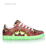 Best Light Up Shoes Rising Sun-App Controlled Low Top LED Shoes Led Light Up Sneakers