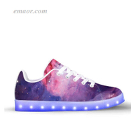 Light Up Sneakers Nebule-App Controlled Low Top Lighted Footwear on Sale