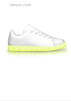 Full Light Up Shoes White Out-APP Controlled Low Top LED Shoes Led Shoelaces Walmart