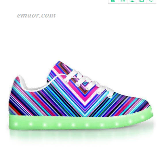 Light Up Shoess Illusions-app Controlled Low Top Led Shoes Light Sole Shoes on Sale Led Light Up Sneaker