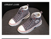 Skechers Casual Shoes Women'sSuede High-top Business Casual Shoes for Women Casual Shoes