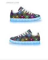 Light Up Running Shoes 2CB-APP Controlled LOW Top LED Shoes Skechers Led Shoes