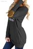 Cheap Designer Outerwear Crew Neck Long Sleeve Elbow Patch Trench Coat Women's Outerwear