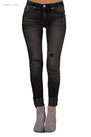 Fashion Skinny Bootcut Women's Ripped Skinny Stretch Jeans Best Jeans on Sale